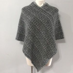 Made in Italy! Sperico Knit Poncho